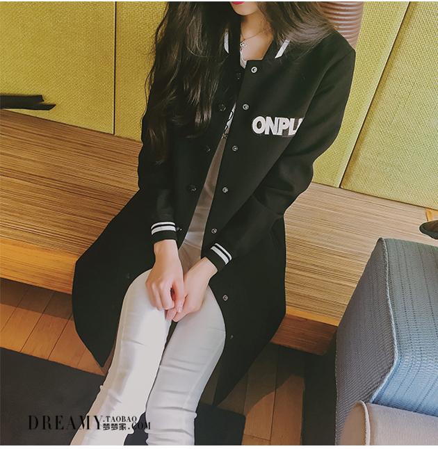 เสื้อกันหนาวแฟชั่นเกาหลีสีดำสวยๆ