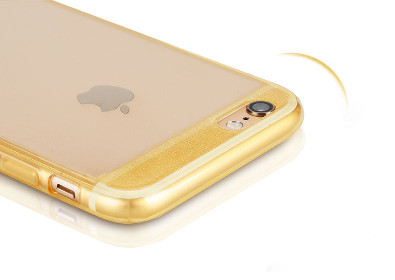เคสใส ขอบกากเพชร (เคสยาง) - iPhone6+