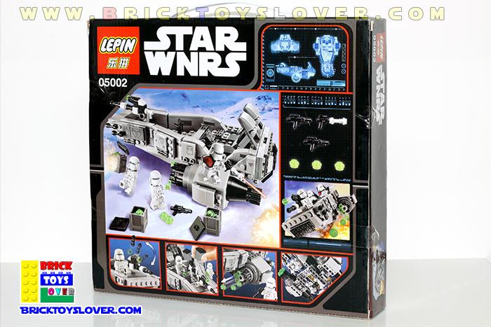 เลโก้จีน Lepin 05002 มินิฟิกเกอร์ First Order Snow Speeder ราคาถูก เชียงใหม่
