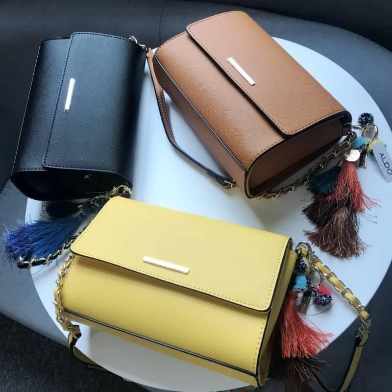 Aldo Chatfield Crossbody bag ( พร้อมส่งสีเหลือง) - sshopcenter ... 587009db4b06c