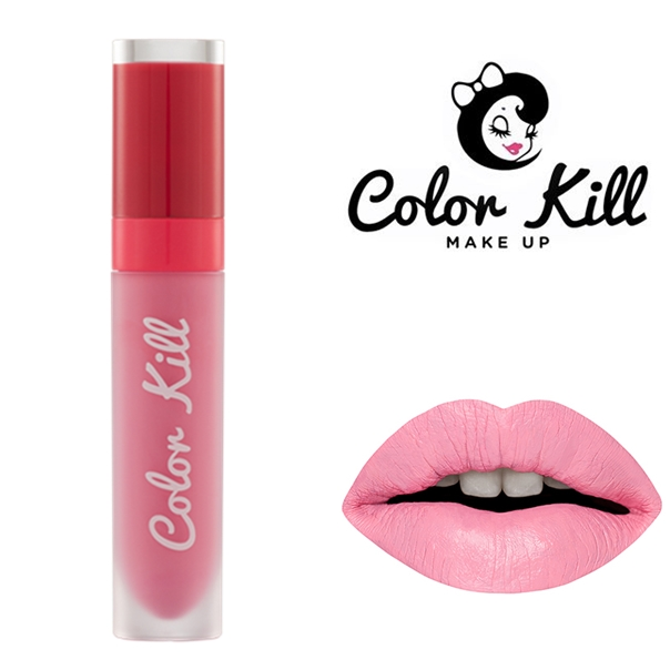 (พร้อมส่ง) COLOR KILL MEGA MATTE LIQUID LIPSTICK สี PINK GUMBALLS