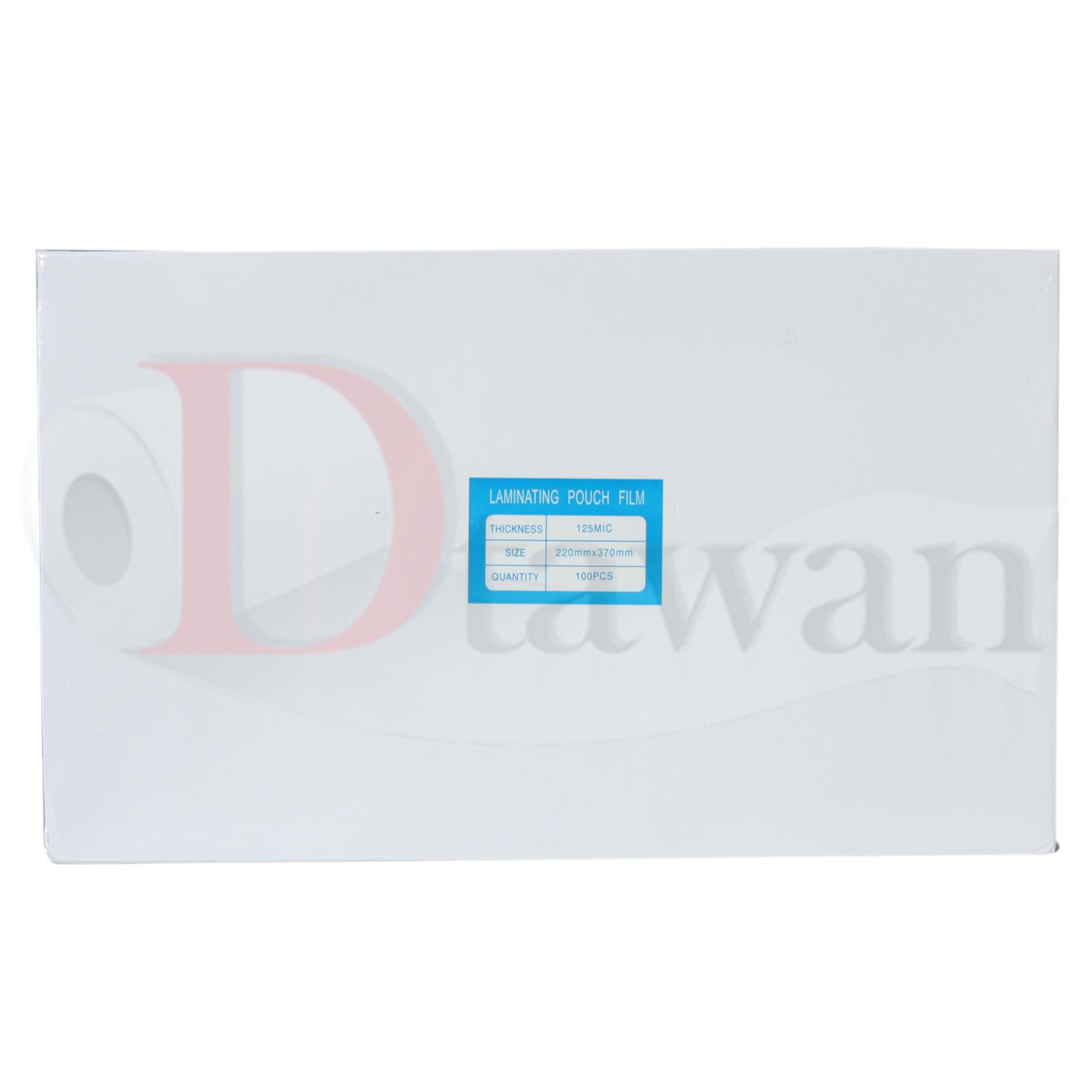 พลาสติกเคลือบบัตร เคลือบรูป ขนาด F4 F14 (220mm x 370mm) คุณภาพสูง กาวเหนียว ไม่เป็นฟองอากาศ