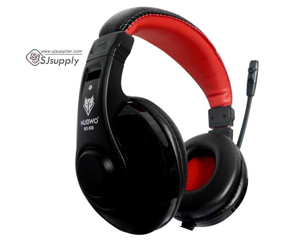 หูฟัง nubwo 550 สีดำ