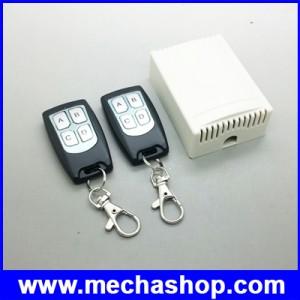 สวิทซ์ รีโมท รีโมทสวิทซ์ปิดเปิด ควบคุมอุปกรณ์ไฟฟ้า4ช่อง สวิทซ์รีโมท 4 ช่อง 2ชุด DC12V 10A 4 Channel RF Wireless Remote Control Switch