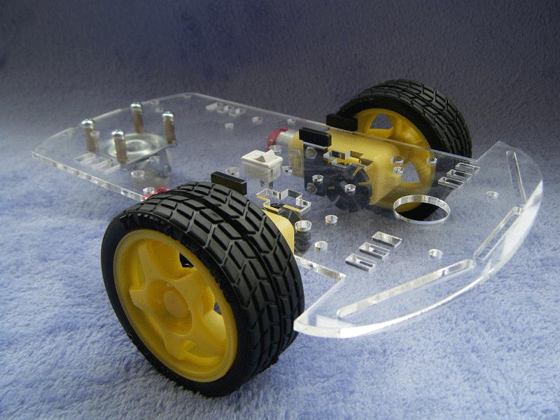 Smart Car 2WD Robot for Arduino ชุดหุ่นยนต์ รถบังคับ ขับเคลื่อน 2 ล้อ