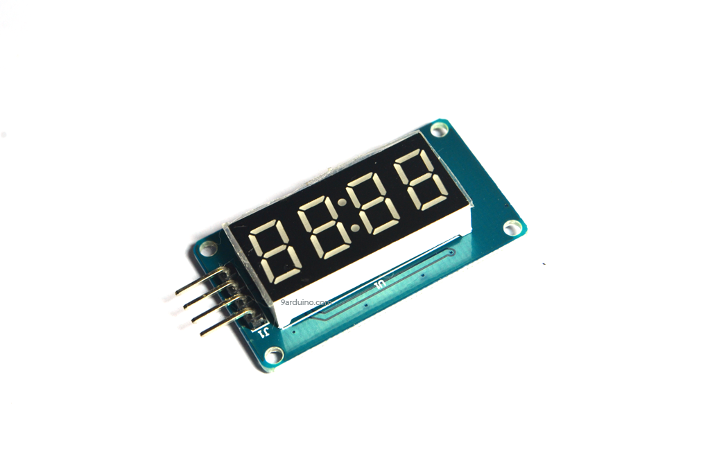 Seven Segment 4 Digit Display LED Module For Arduino