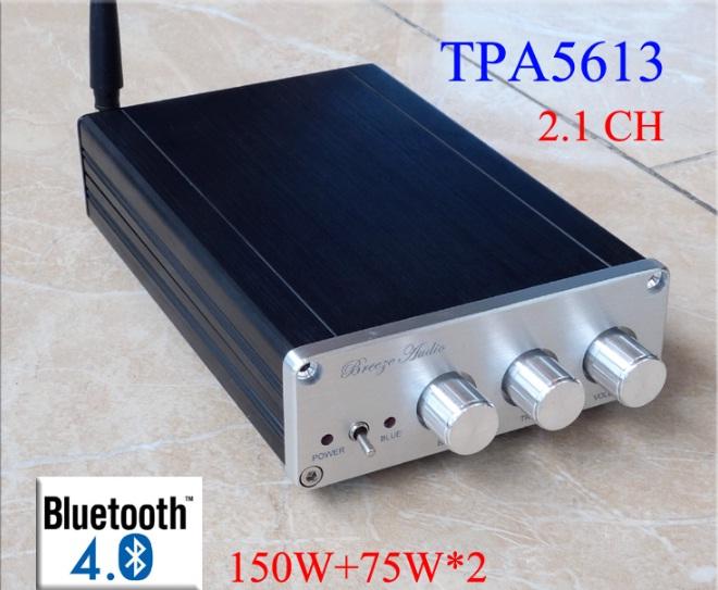 TPA5613 เครื่องขยายเสียง 2.1 CH 300 W พร้อม บลูทู ธ 4.0