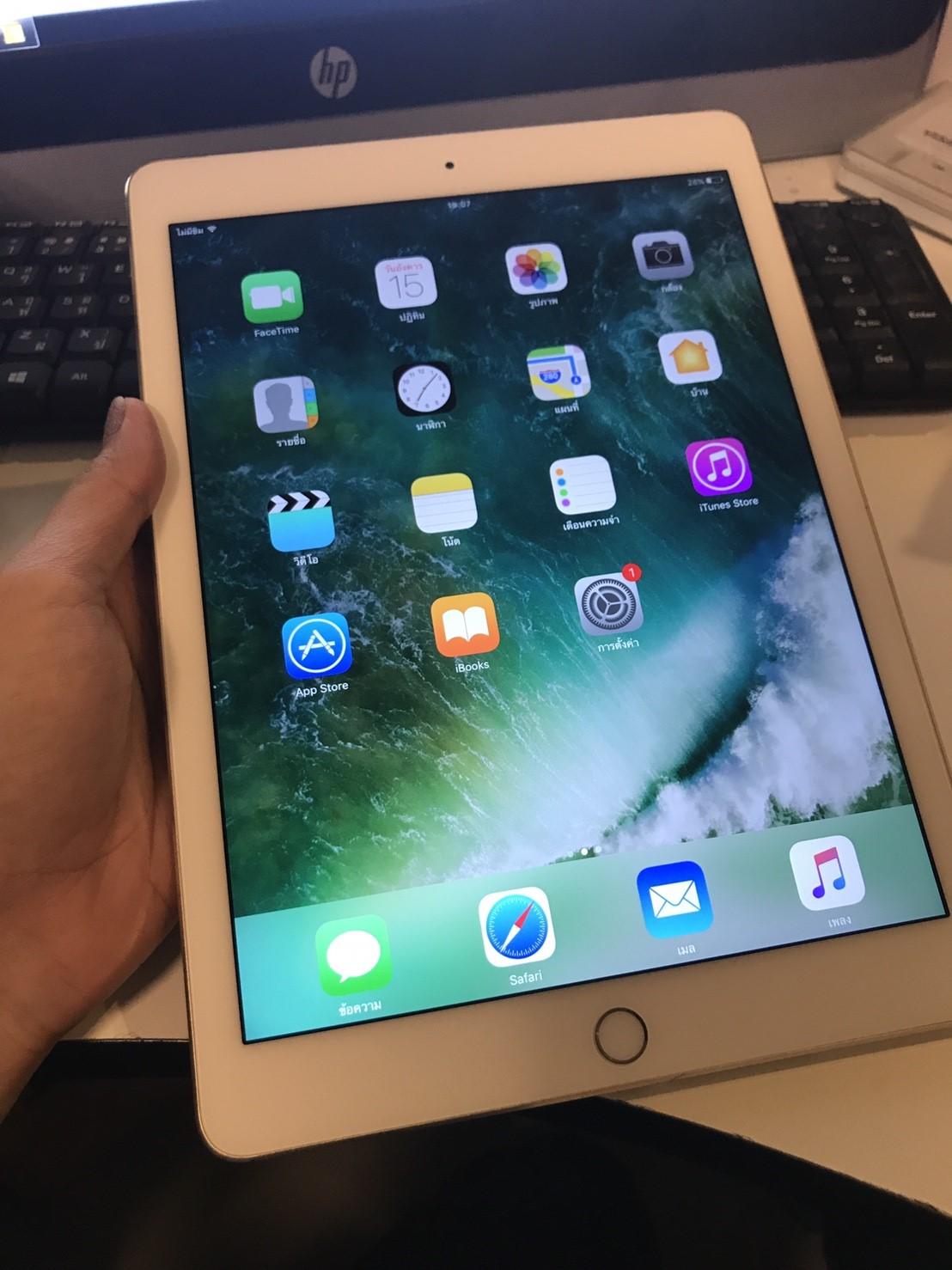 JMM-66 ขาย iPad Air2 Cellular 64 Gb ราคา 12,500 บาท