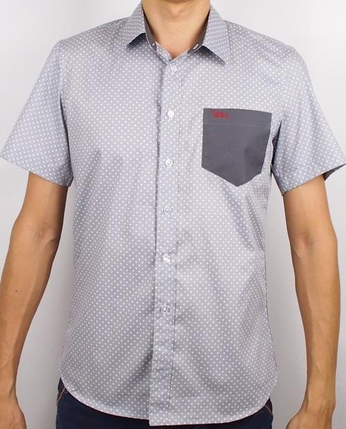 เสื้อเชิ้ตแขนสั้น ชาย NANAPA Shirts S-011