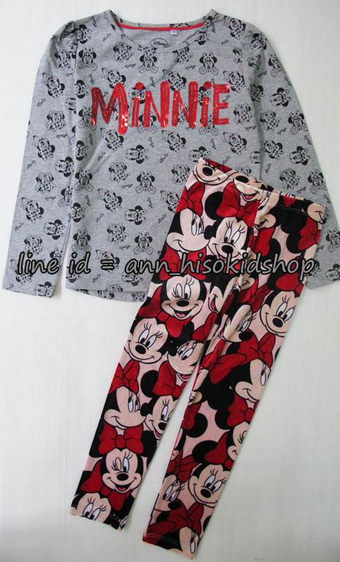 SP023 Disney Long Sleeve + H&M Minnie Legging