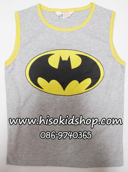 1140 H&M T-Shirt with print - Grey ขนาด 2-4,4-6 ปี