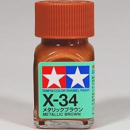 80034 Enamel X34 metallic brown