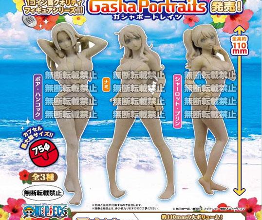 เปิดรับPreorder มีค่ามัดจำ 100 บาท ONE PIECE GASHA PORTRAITS onepiece แบบครบเซ็ต ( 1เซ็ตจะมี 3 แบบ