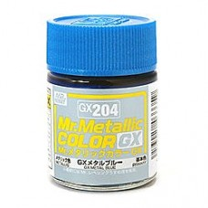GX-204 Mr.metalic GX metal blue 18ml.