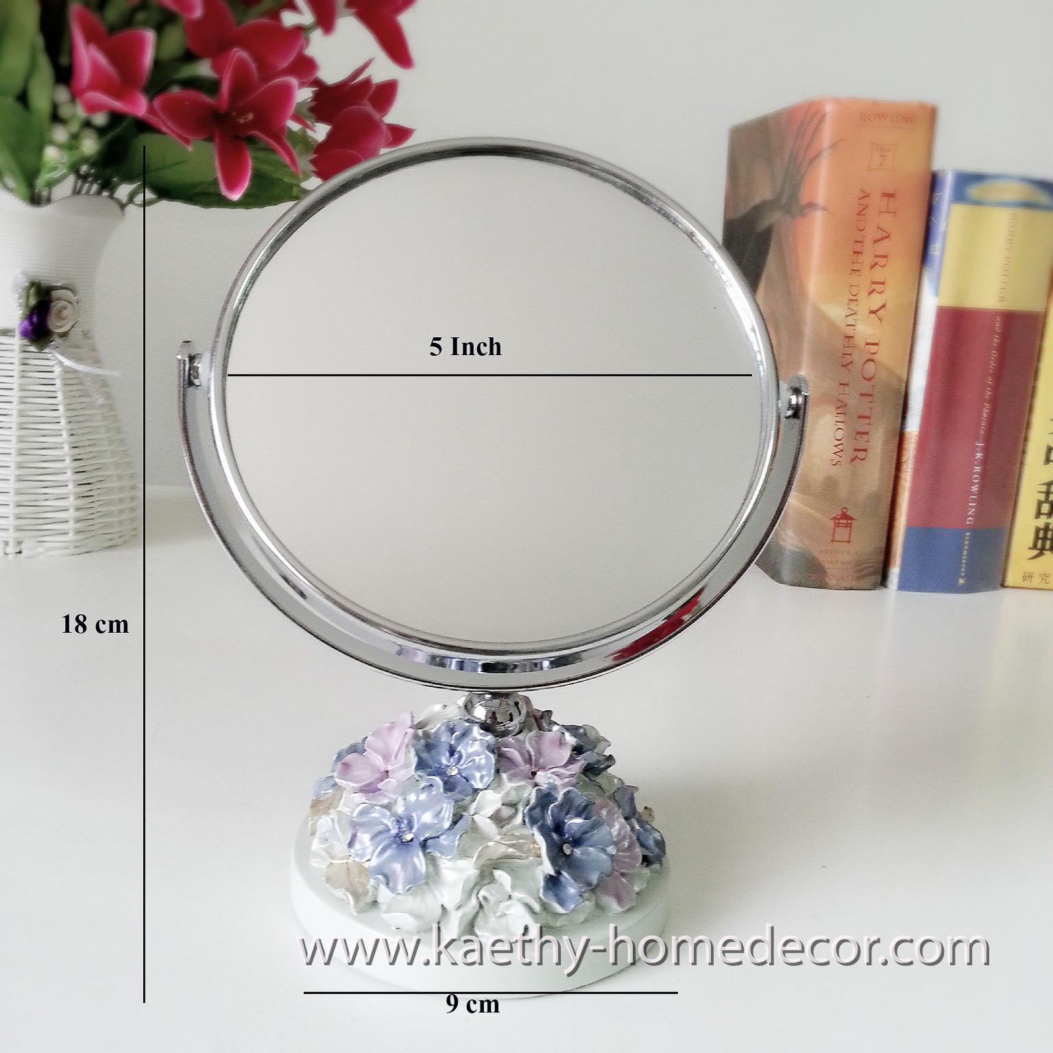 Round Mirror Style Design F2 Dia 5 Inch