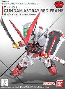 04935 sd ex-standard 007 Gundam Astray Red Frame 600yen