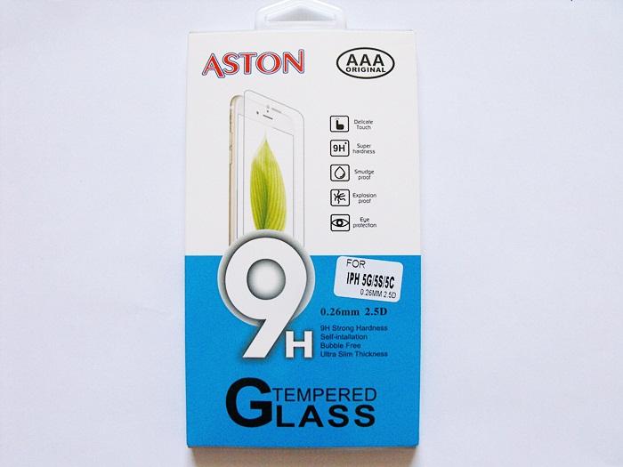ฟิล์มกระจก Iphone 5/5S/5C (ASTON)