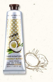 ์Nature Republic Hand Cream :COCONUT BUTTER