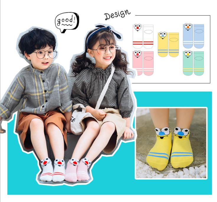 ถุงเท้าสั้น คละสี แพ็ค 10คู่ ไซส์ L (อายุประมาณ 6-8 ปี)