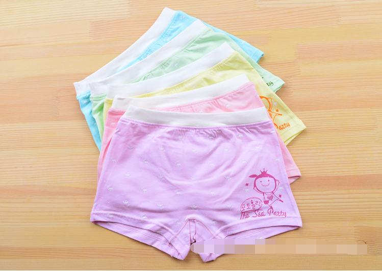 กางเกงในเด็ก คละสี แพ็ค 20 ตัว ไซส์ XL อายุ 3-5 ปี
