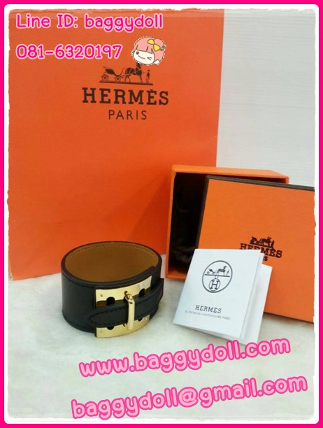 Hermes Intense Bracelet กำไลข้อมือหนัง แอร์เมส **เกรดท๊อปมิลเลอร์** (Hi-End)