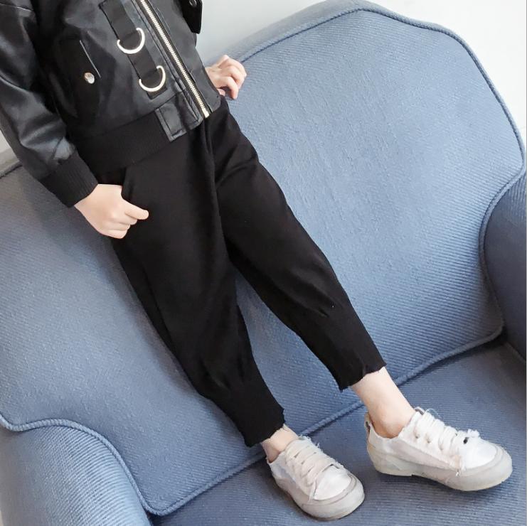 กางเกง สีดำ แพ็ค 5ชุด ไซส์ 100-110-120-130-140