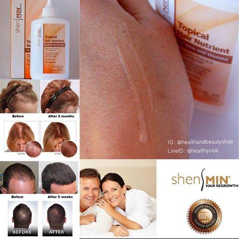 # ผมนิ่ม # Natrol, Shen Min, Topical Hair Nutrient, For Men and Women, 3.1 fl oz (93 ml)
