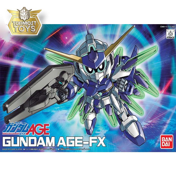 SD BB 376 Gundam AGE-FX