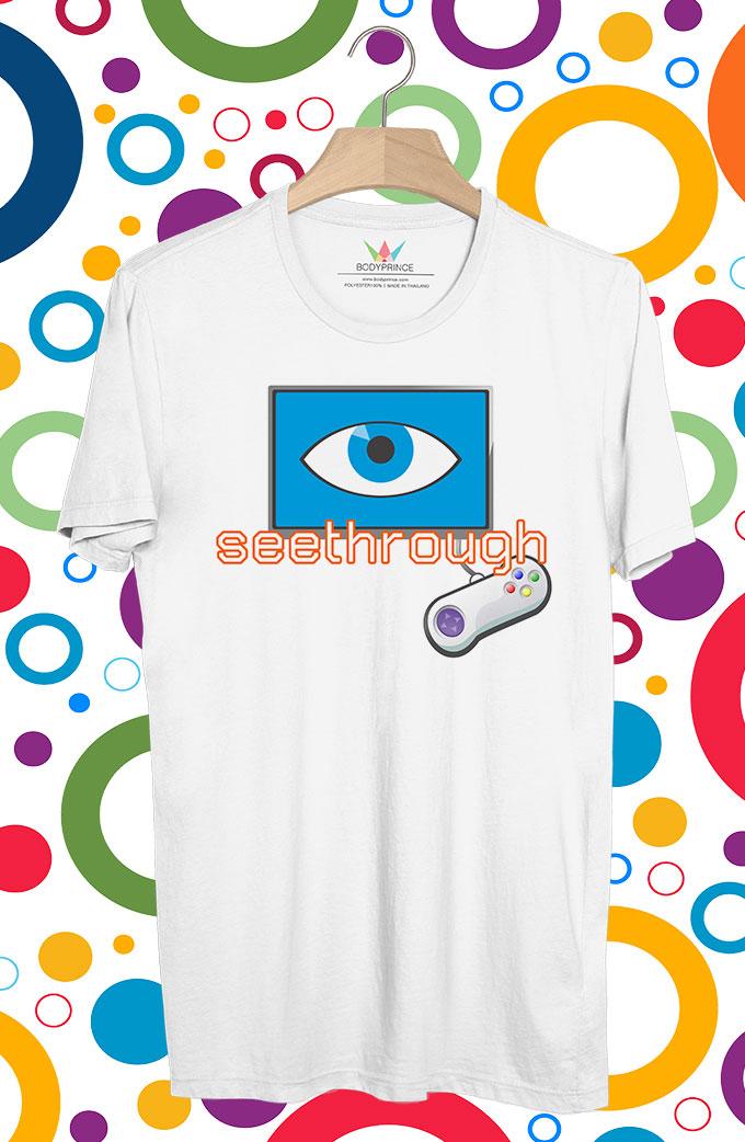 BP208 เสื้อยืด Seethrough