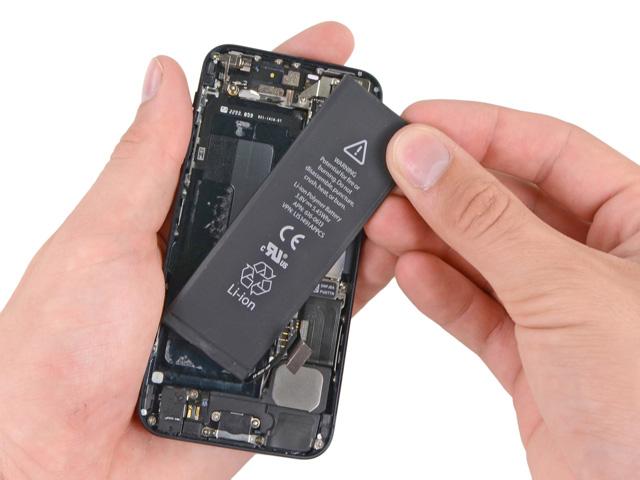 วิธีเปลี่ยนแบต iPhone 5 ขั้นที่ 13