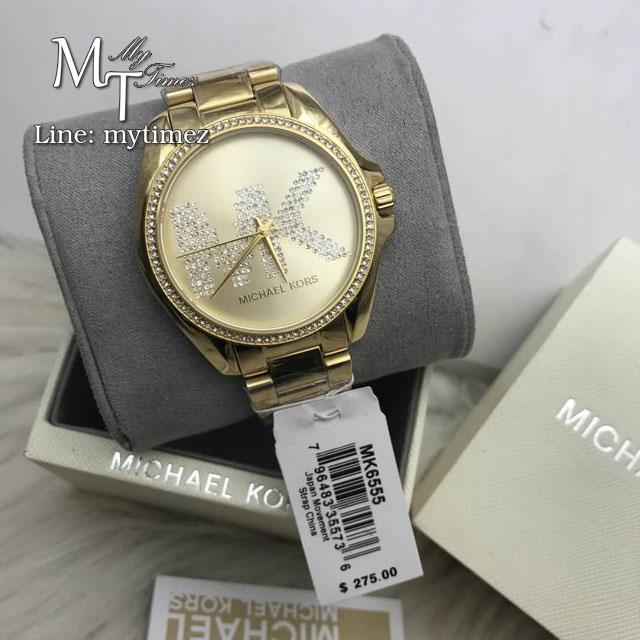 นาฬิกาข้อมือ MICHAEL KORS รุ่น Bradshaw Gold Stainless MK6555