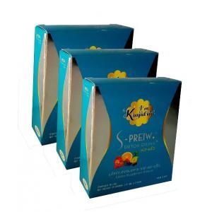 อาหารเสริมลดน้ำหนัก (ยาลดความอ้วน) เอสพริ้ว ดีท็อก 3 กล่อง