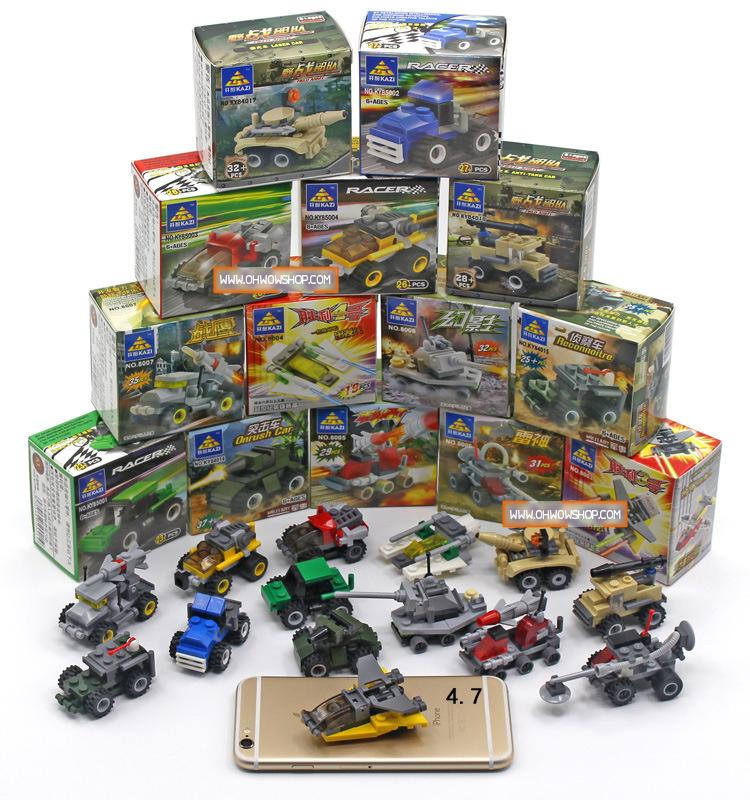 ตัวต่อ LEGO รถถัง 168 บาท/ 12ชิ้น