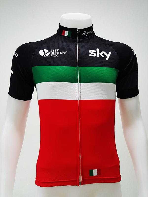 เสื้อปั่นจักรยานแขนสั้นโปรทีม : SP150040