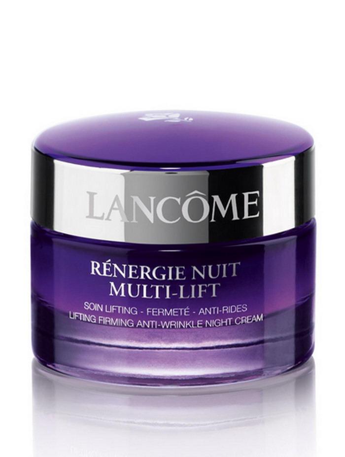 (ขนาดทดลอง): LANCOME Renergie Nuit Multi-Lift Lifting Firming Anti-Wrinkle Night Cream 15ml