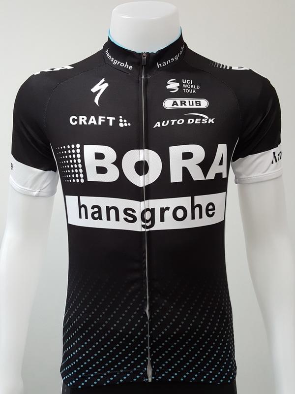เสื้อปั่นจักรยานแขนสั้นโปรทีม : SP170130