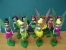 ฟิคเกอร์ Tinkerbell ชุด 10 ตัว (Mattel)