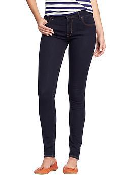 ( ไซส์ 20 เอว 40 สะโพก 50 นิ้ว ) กางเกงยีนส์ Oldnavy สีเข้ม ทรง skinny ผ้ายีนส์ยืดใส่สบายคะ สำเนา