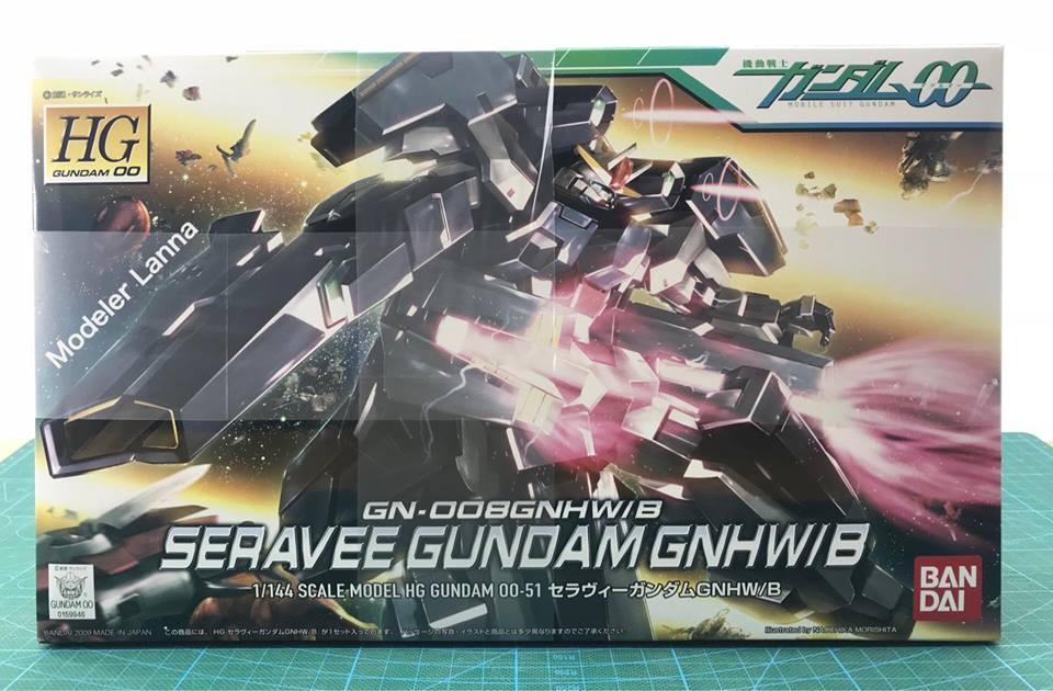 HG GN-008GNHW B SERAVEE GUNDAM GNHW B