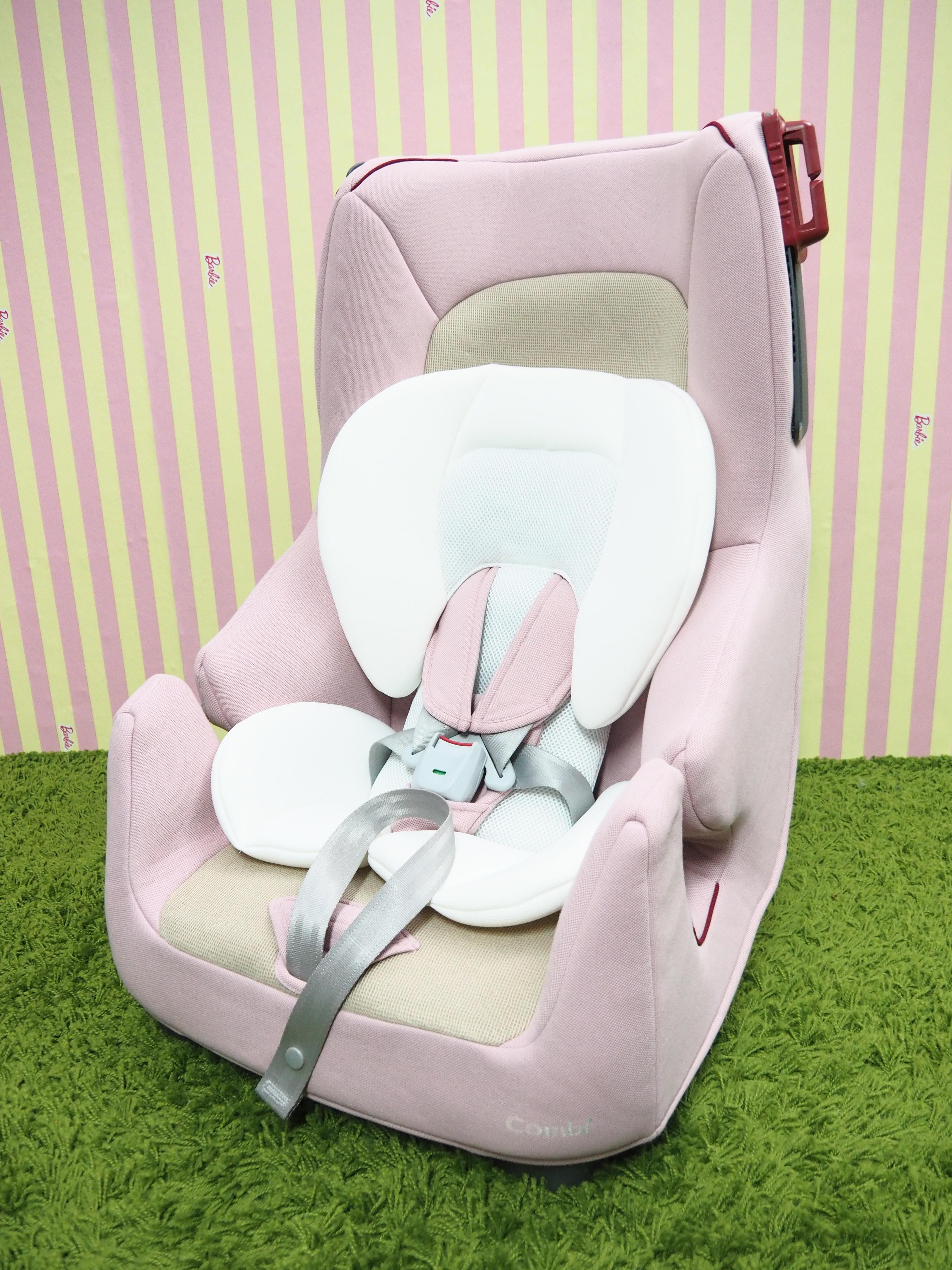 Carseat Combi รุ่น Harness fit long สีชมพู