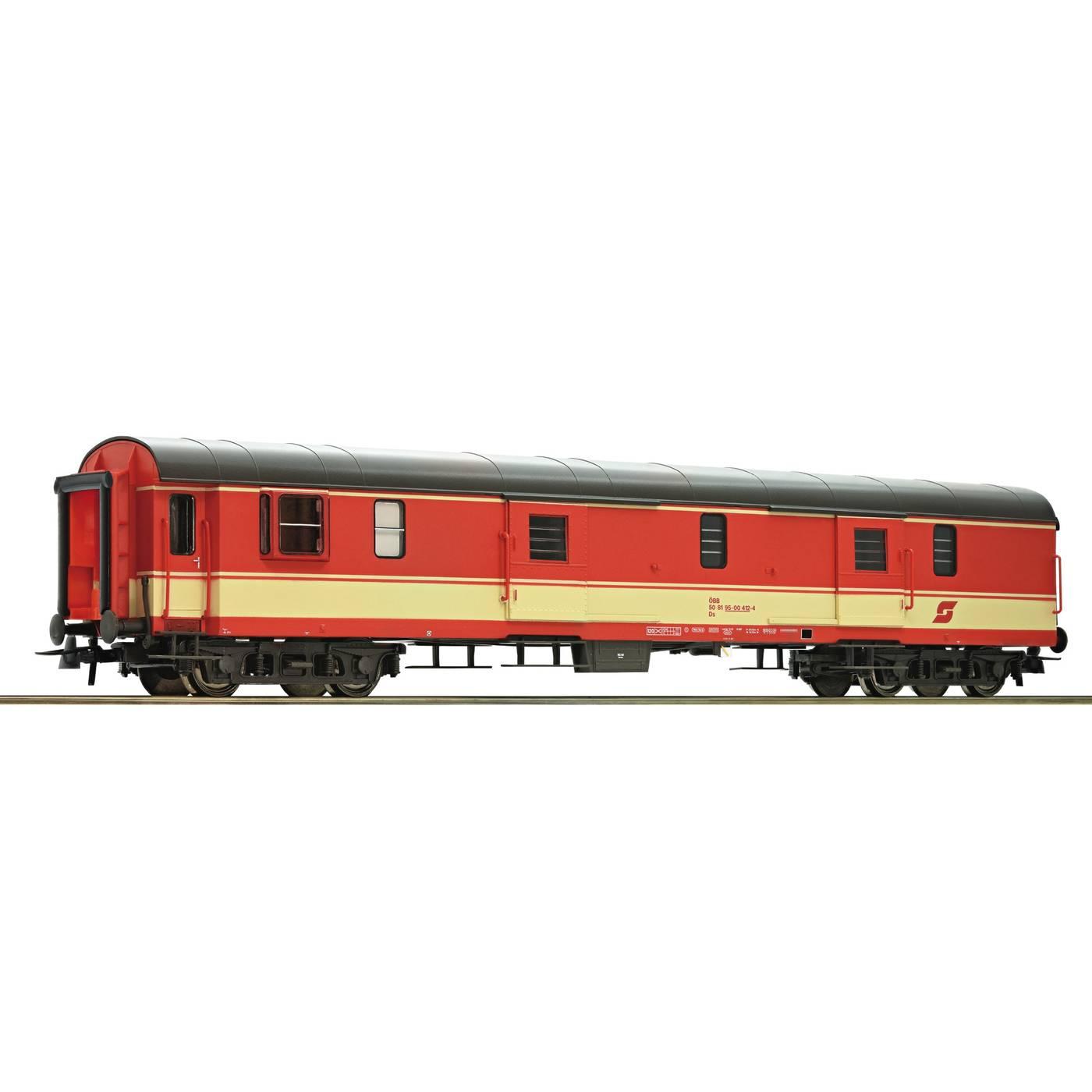 Roco64657 Coach OBB baggage car