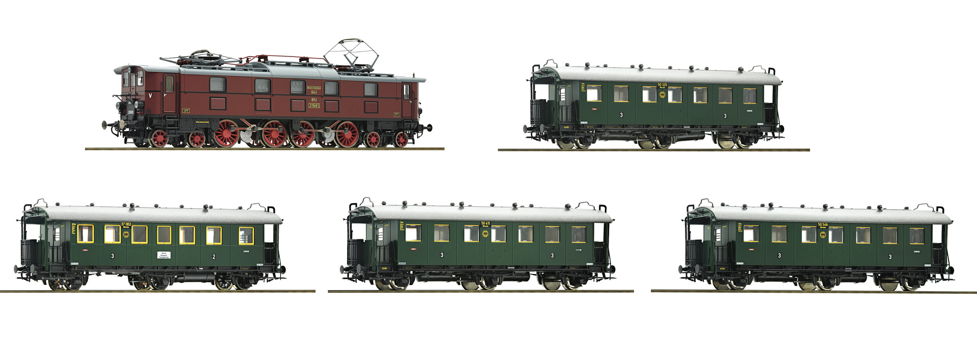 FLM481471 KBay train set, 130 year Fleischmann