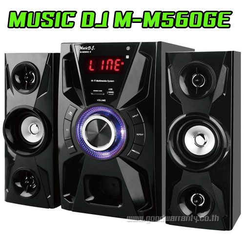 M-M560GE Speaker MUSIC D.J. BLUETOOTH FM/KA/CARD