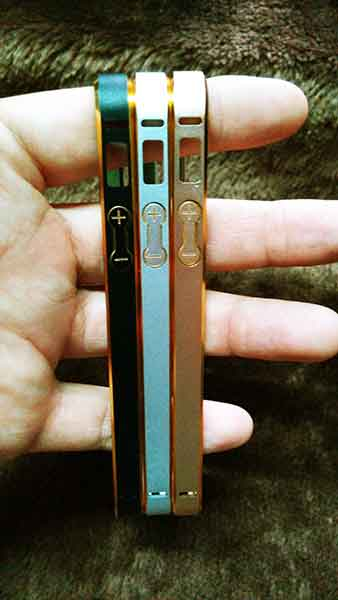 case iphone 5/5s อลูมิเนียม บัมเปอร์