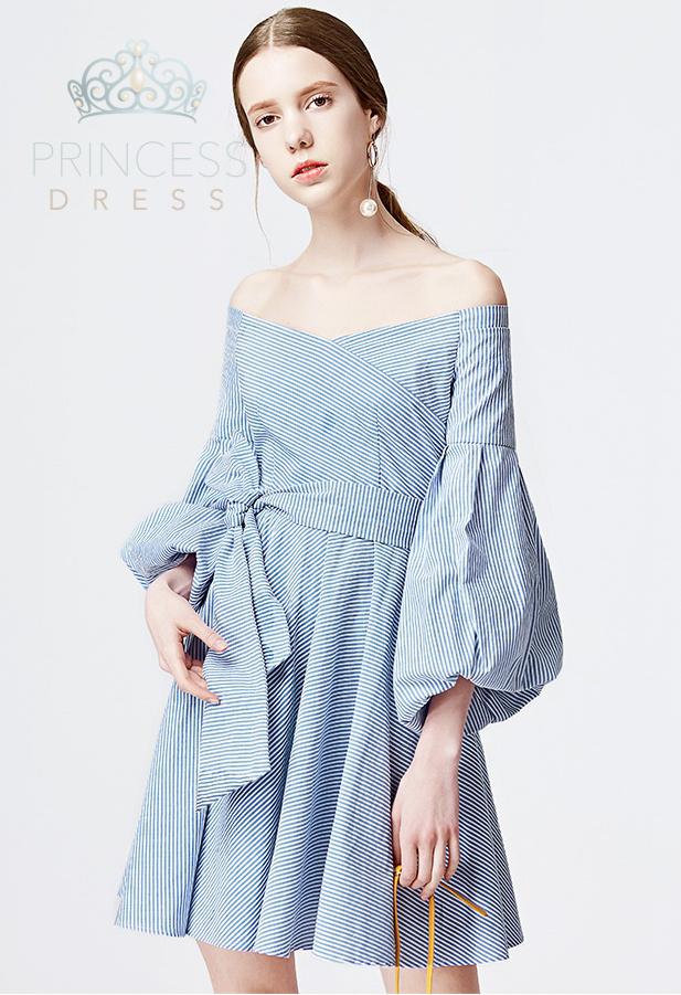 A004 Margaery Blue Princess Dress