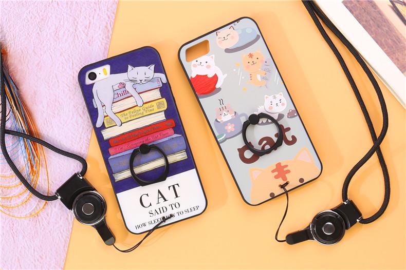 (025-281)เคสมือถือไอโฟน case iphone 5/5s/SE เคสนิ่มลายการ์ตูนเกาหลีน่ารักๆ