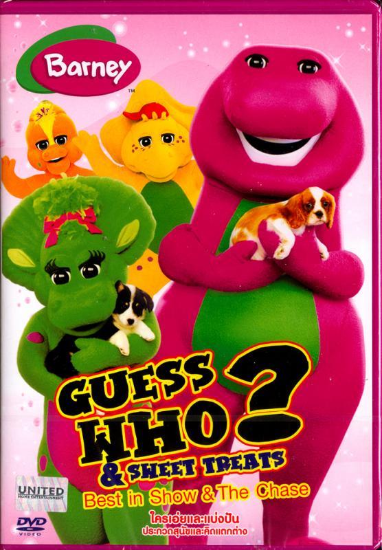 Barney: Guess Who? & Sweet Treats: Best In Show & The Chase-ใครเอ่ยและแบ่งปัน ประกวดสุนัขและคิดแตกต่าง