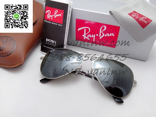 Ray Ban Aviator Flat Metal RB3513 154/6g 58/15 3n