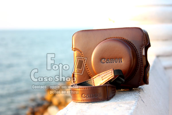 Leather Camera Case for Canon G1X