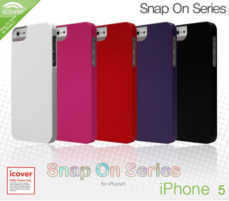 icover SnapOn Series Case Cover for Apple iPhone 5
